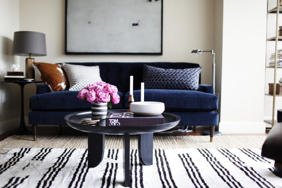 [ Idée déco : Superposer des tapis ] Brian Paquette interiors