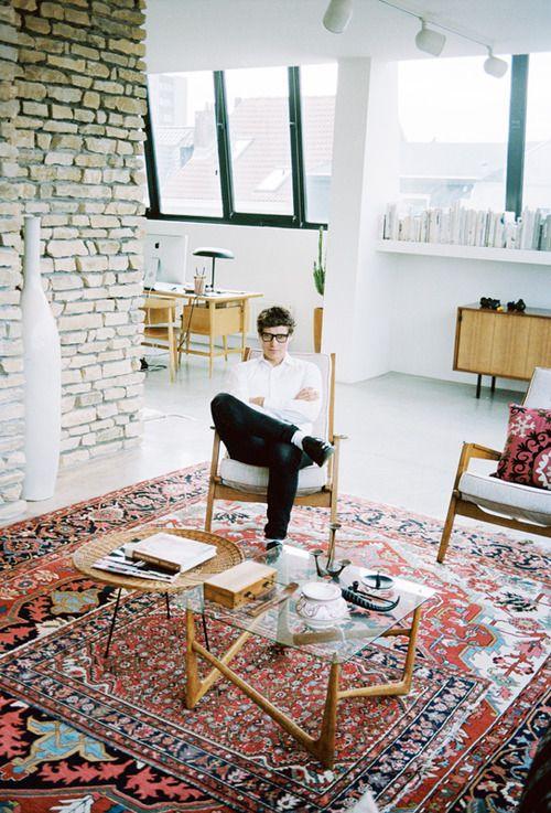 Idee deco_Superposer des tapis_Bruno Pieter interior