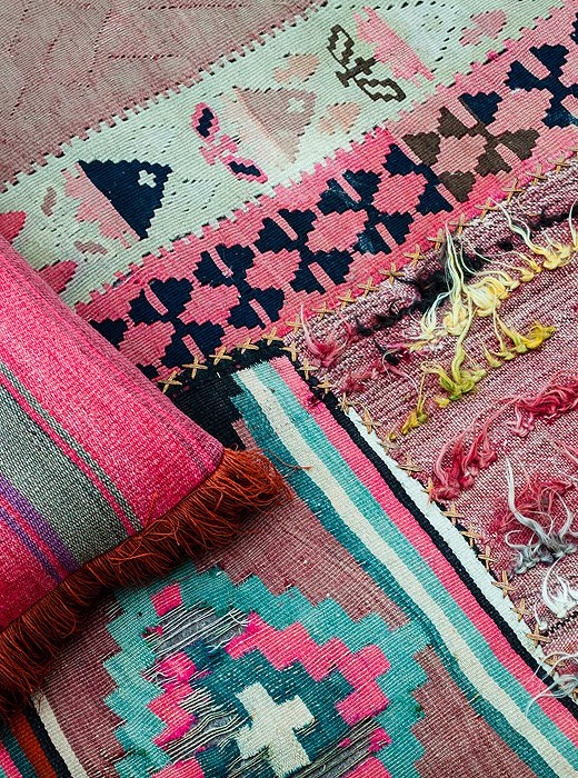 [ Idée déco : Superposer des tapis ] Katie Tarses LA interior
