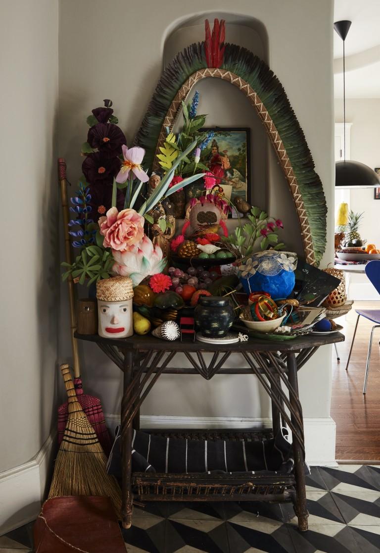 Influences hippies pour l'intérieur de Liva Cetti niché dans le Bronx