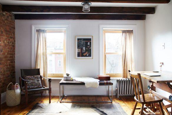 L'intérieur boho chic de Lizzie Fortunato à Brooklyn