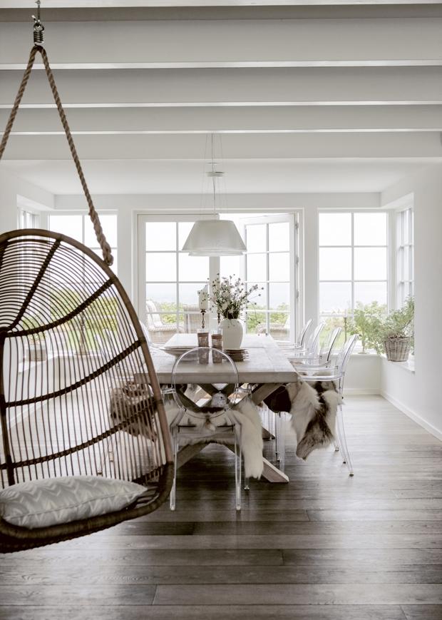 Meuble en bois brut, ambiance nature || Meubles en bois brut, atout charme et ambiance bord de mer