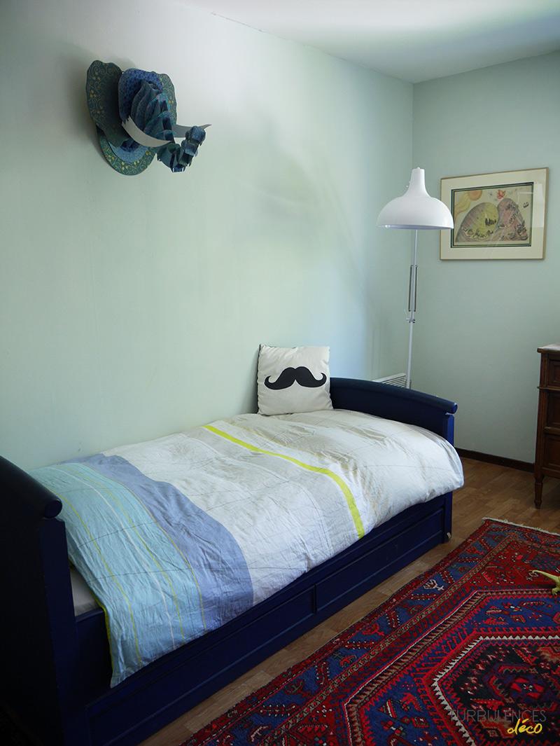 Un placard sur mesure centimetre.com pour la chambre de Gauthier - Turbulences Déco
