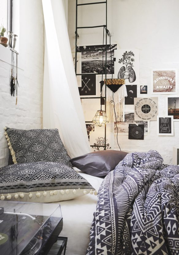 Un tissage mural dans ma déco || Urban Outfitters styling