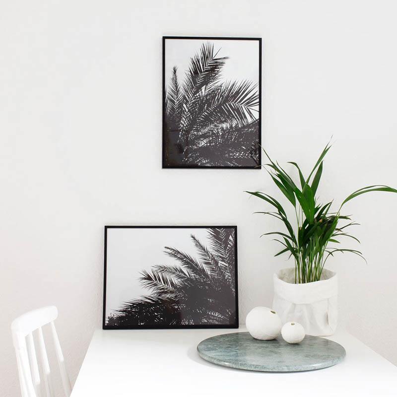 Affiches botaniques design par Coco Lapine - Palm print set