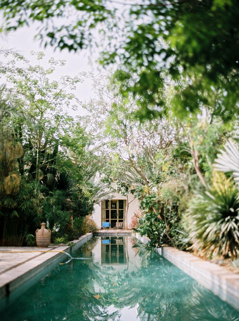 autour d'une piscine design