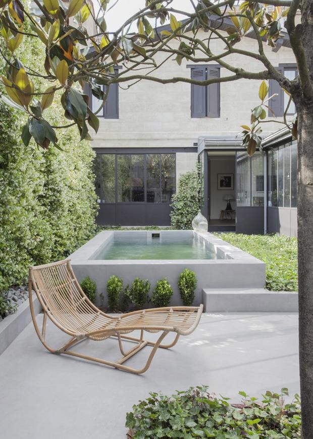 Autour de la piscine - Maison à Bordeaux