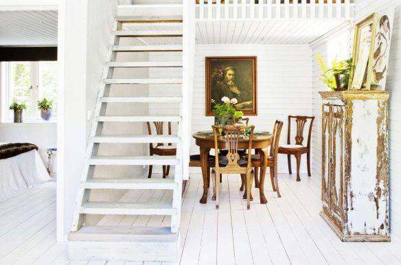 Bord de mer sur un air champêtre || Une maison à Öland avec une touche d'industiel