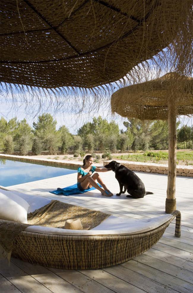 Autour de la piscine - Casa Formenesa