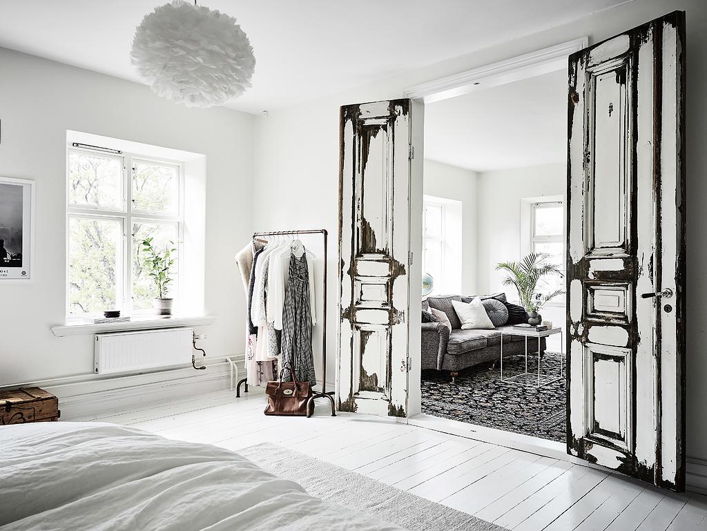 Rustique moderne la chaleur du bois brut - Appartement duplex alvhem makleri goteborg ...