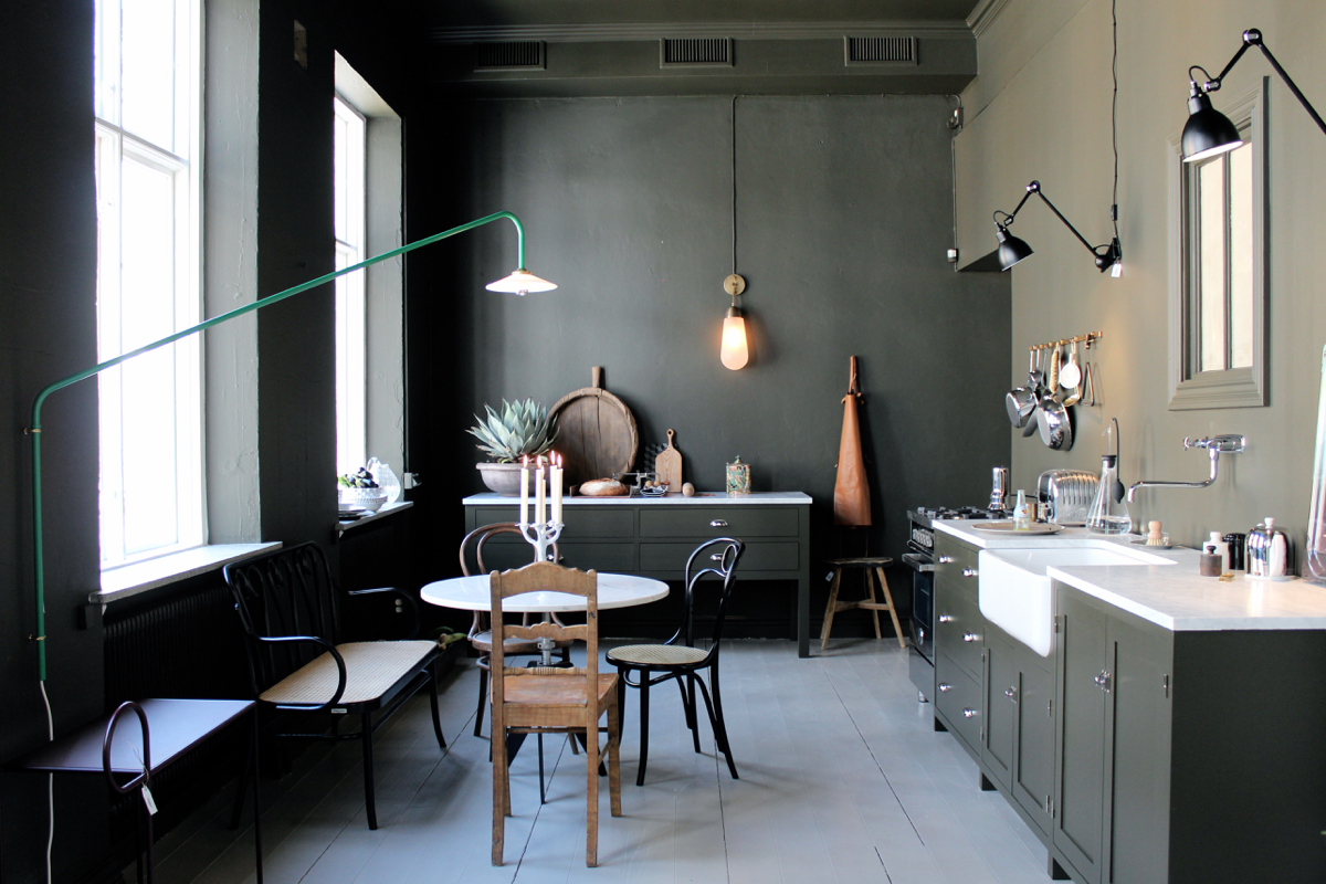 Deco Rustique moderne - Artilleriet studio showroom à Götenborg