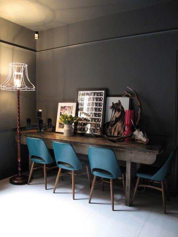 Camper une décoration éclectique || Une maison d excentriques 47parkav à Londres