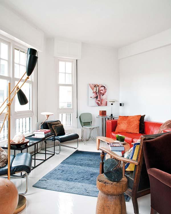 Camper une décoration éclectique || Mélange des styles par les décorateurs Fran Ugarte et Inaki Cuesta