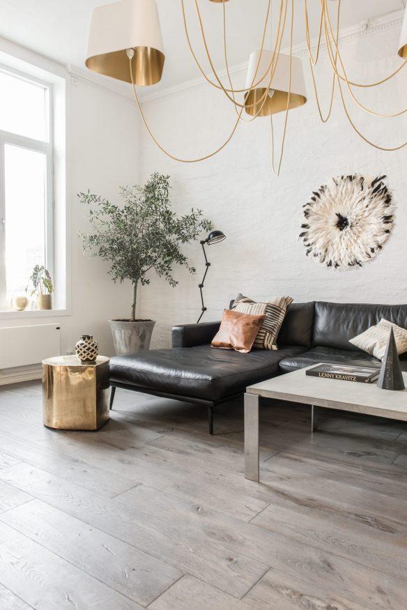 Camper une décoration éclectique || Appartement à Oslo
