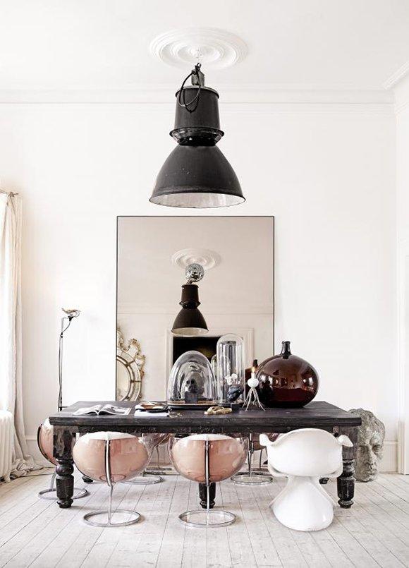 Camper une décoration éclectique || L intérieur de Marie Olsson Nylander