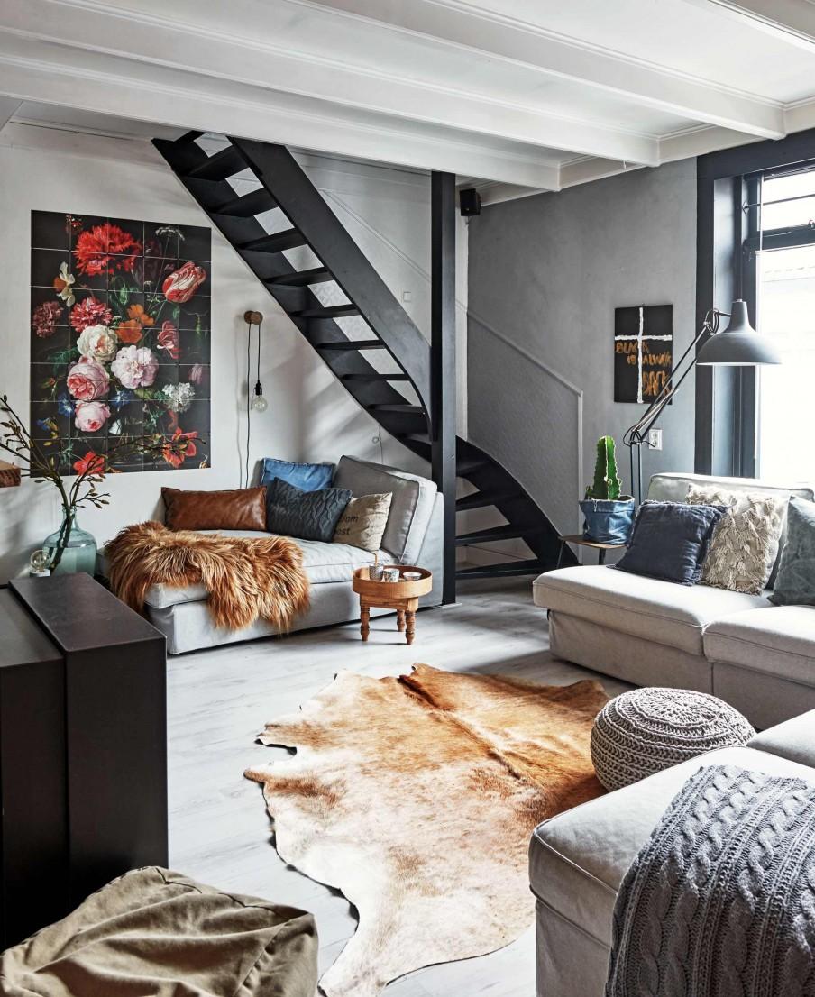 Camper une décoration éclectique || L intérieur de Mariette et Gerald aux Pays Bas