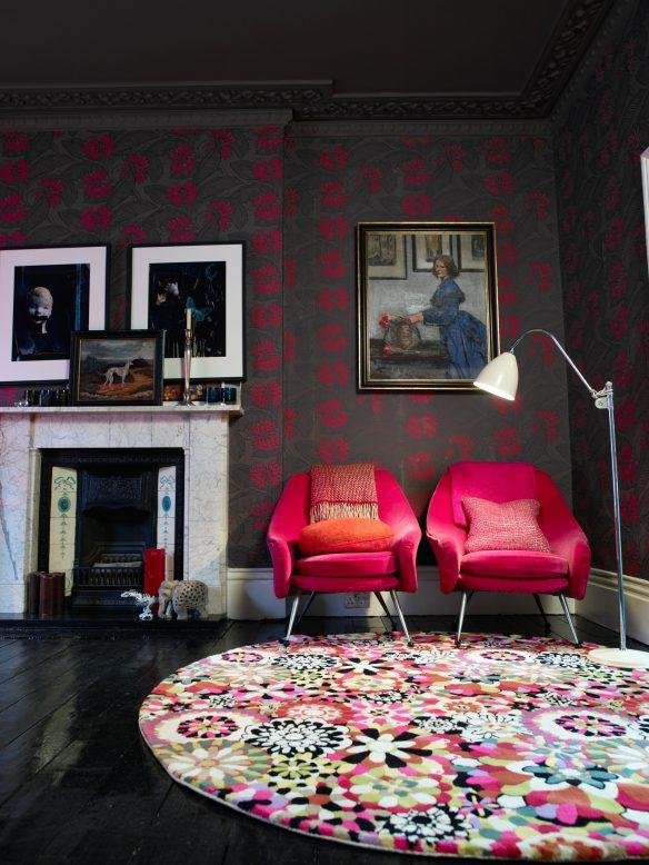 Camper une décoration éclectique || Abigail Ahern Alexander St 04