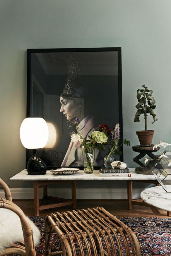 Camper une décoration éclectique || L intérieur de Julia Hetta