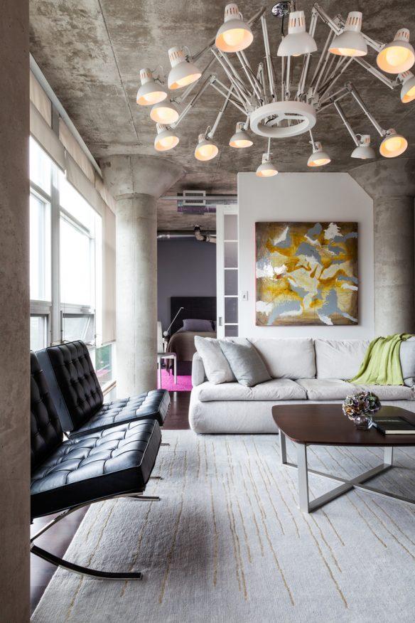 Camper une décoration éclectique || Un loft par le studio Rad Design