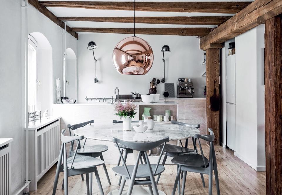 Deco Moderne rustique moderne : la chaleur du bois brut