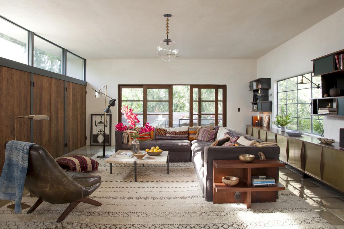 Tendance tapis Beni Ouarain - Par le studio Commune Design à L.A. Carnation-street