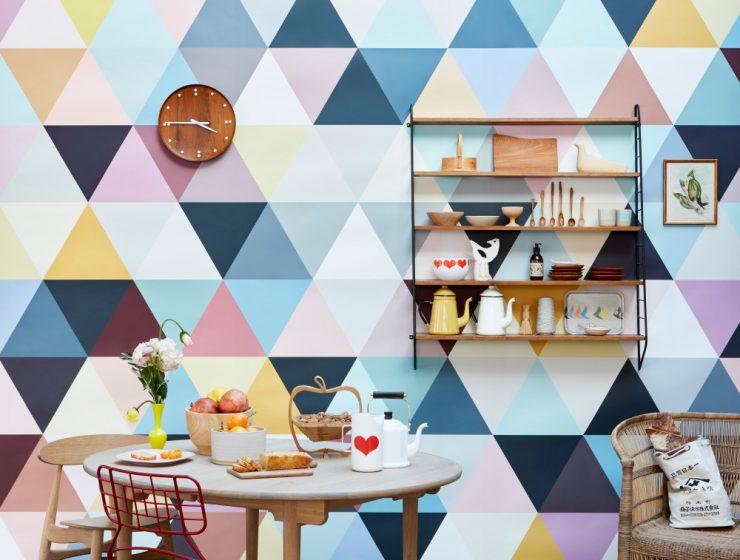 Papier-peint Bien fait – Mosaic Soft