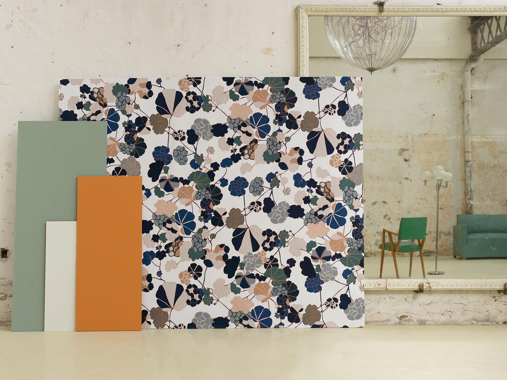 nouveaux papiers peints chez bien fait ressource les gambettes. Black Bedroom Furniture Sets. Home Design Ideas