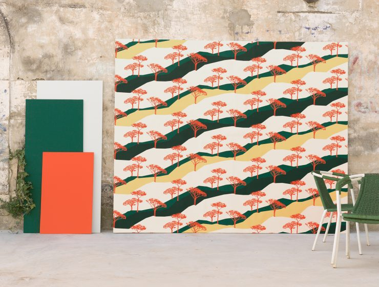 Nouvelle collection de papier-peint Ressource – Sous les pins