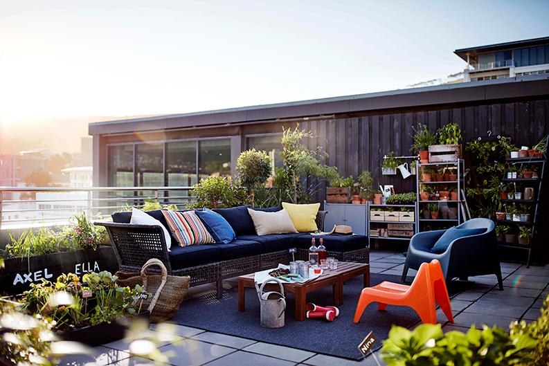 comment donner du cachet son coin ext rieur. Black Bedroom Furniture Sets. Home Design Ideas