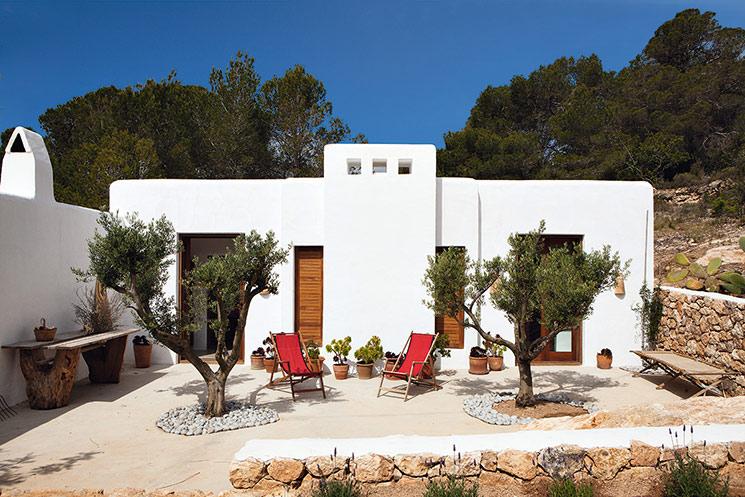 Le style bohème festif de Luis Galliussi - Sa maison Can Kaki à Formentera