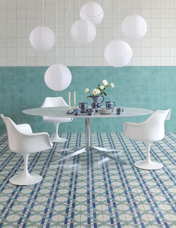 Booster sa décoration avec des carreaux de ciment || Marcelo Rosenbaum design tiles