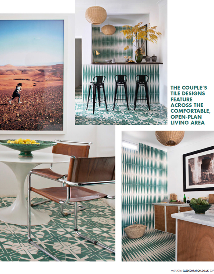 Booster sa déco avec des carreaux de ciment || Popham Design Marrakech showroom