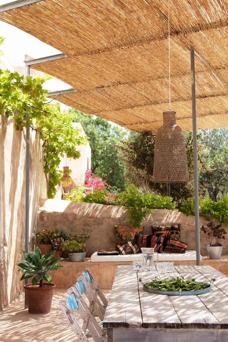Une maison au style rustique boh me ibiza - Maison style rustique ...