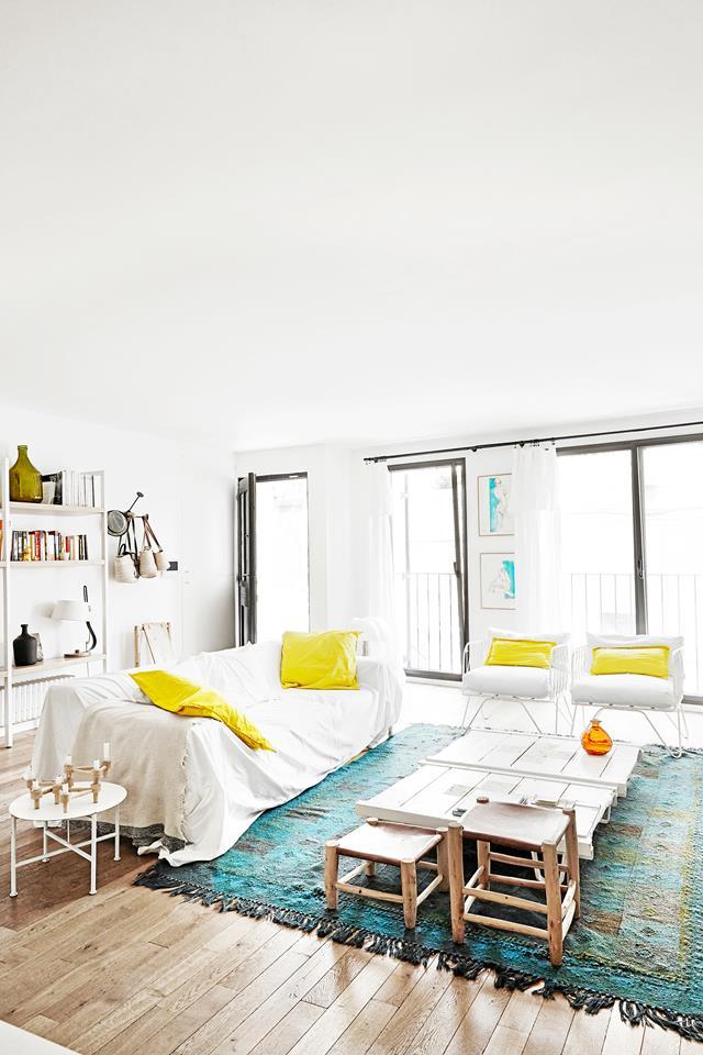 Sun, sun, une déco d'été blanche - Une maison de pêcheur rénové dans un esprit location de vacances