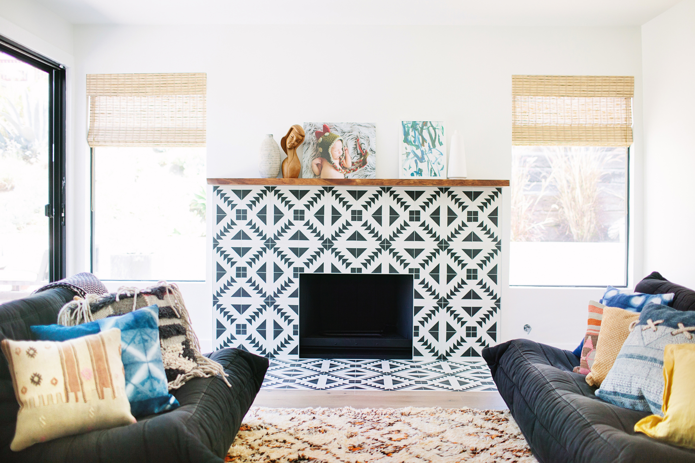 Booster sa déco avec des carreaux de ciment || Veneer Designs - Maison à L.A.