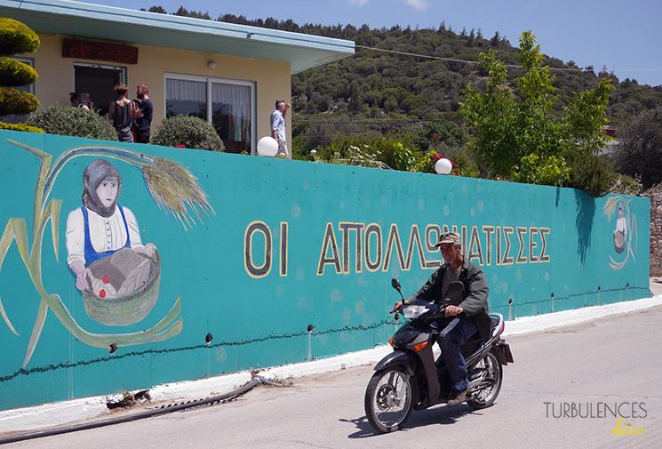 Voyage à Rhodes - Visite du village d'Apollonia || @turbulencesdeco