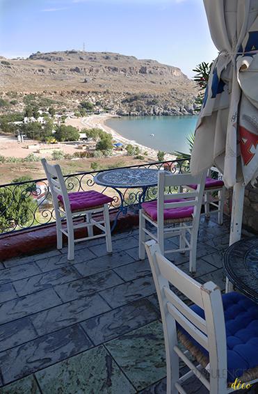 Voyage à Rhodes - Visite de Lindos - Le Rainbird café || Turbulences déco