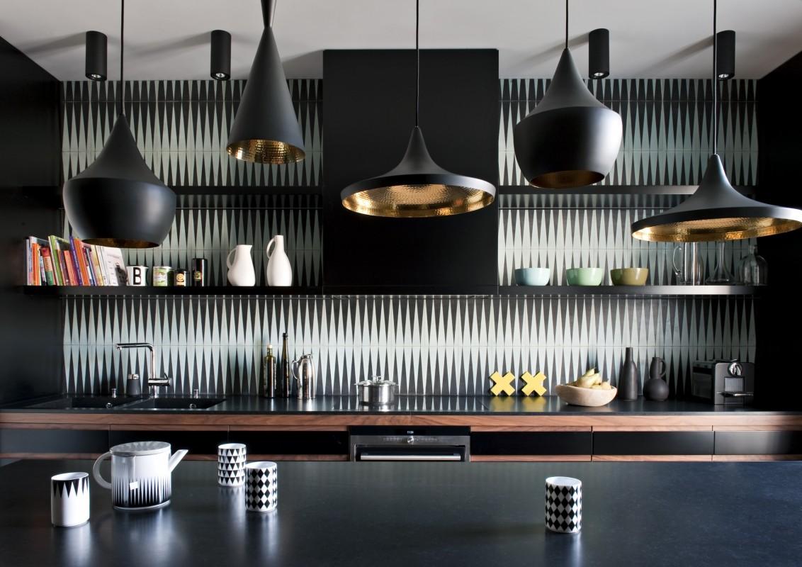 Decoration Cuisine Moderne Blanche booster sa déco avec des carreaux de ciment - turbulences déco