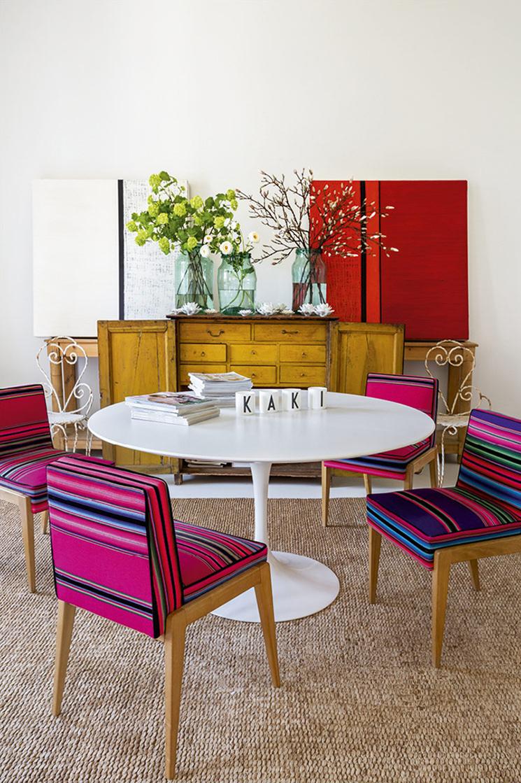 Le style bohème festif de Luis Galliussi - Son appartement à Madrid