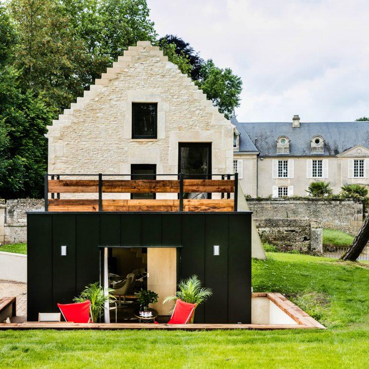 L'annexe à Caen : une maison de poche à la déco très actuelle