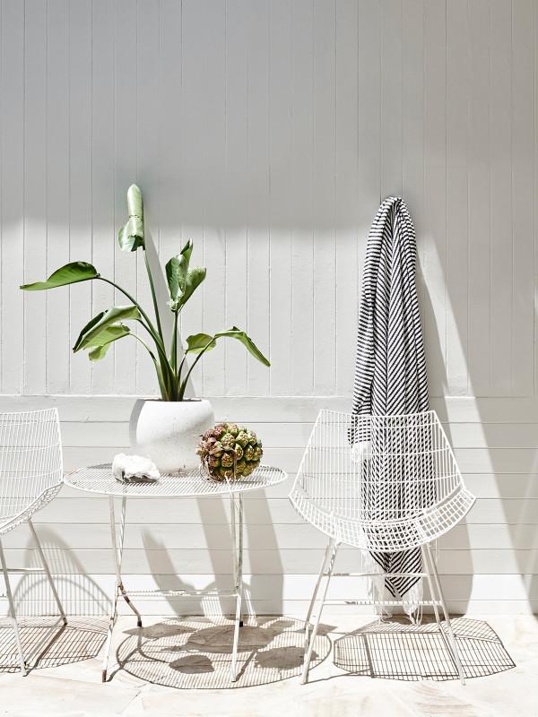 Sun, sun, une déco d'été blanche - Louise et Graeme Bell home
