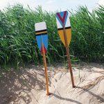 DIY : Décorer des rames avec des motifs géométriques et colorés