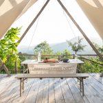 Vivre sous une tente, le temps de l'été…