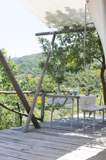 Vivre sous une tente, le temps de l'été... - Maison d'hôtes au Portugal