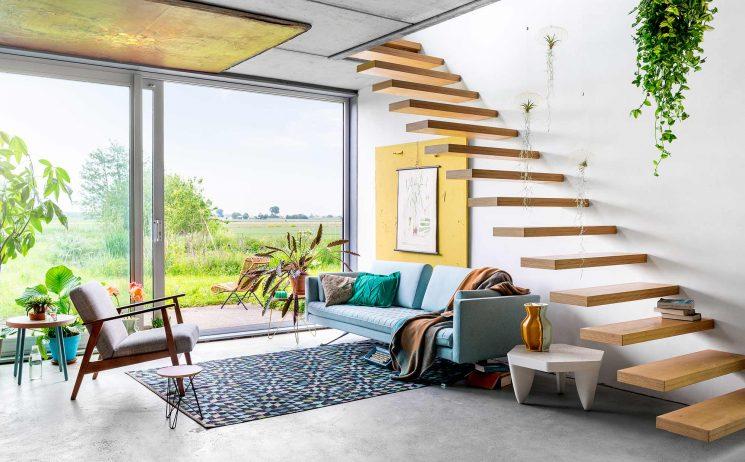 Se créer une maison colorés aux accents estivaux