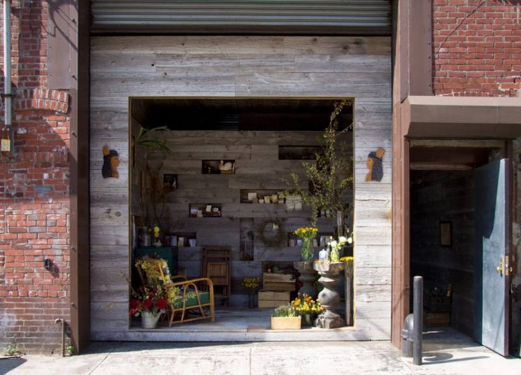 La boutique Saipua design par Tacklebox Architecture à Brooklyn