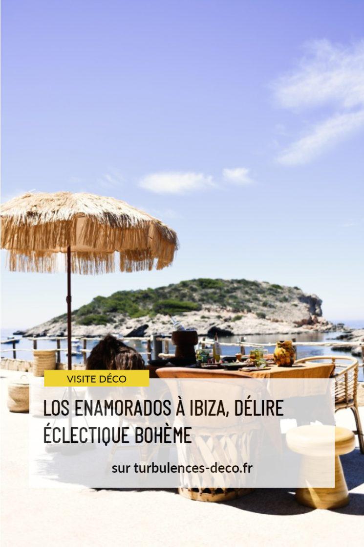 L'hôtel Los Enamorados à Ibiza, délire éclectique et bohème à retrouver sur tubulences Déco