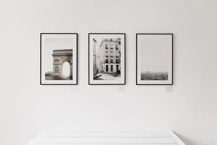 Idée déco : Afficher ses photographies aux murs - Cereal magazine, Paris landscape