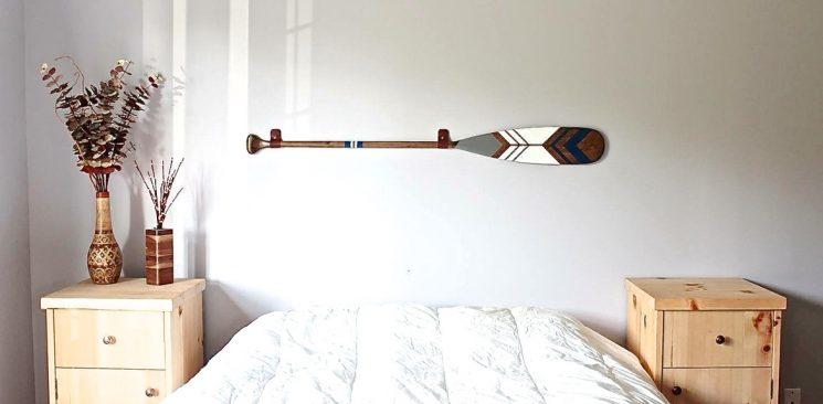 Inspiration de pagaies peintes par Ropes and wood