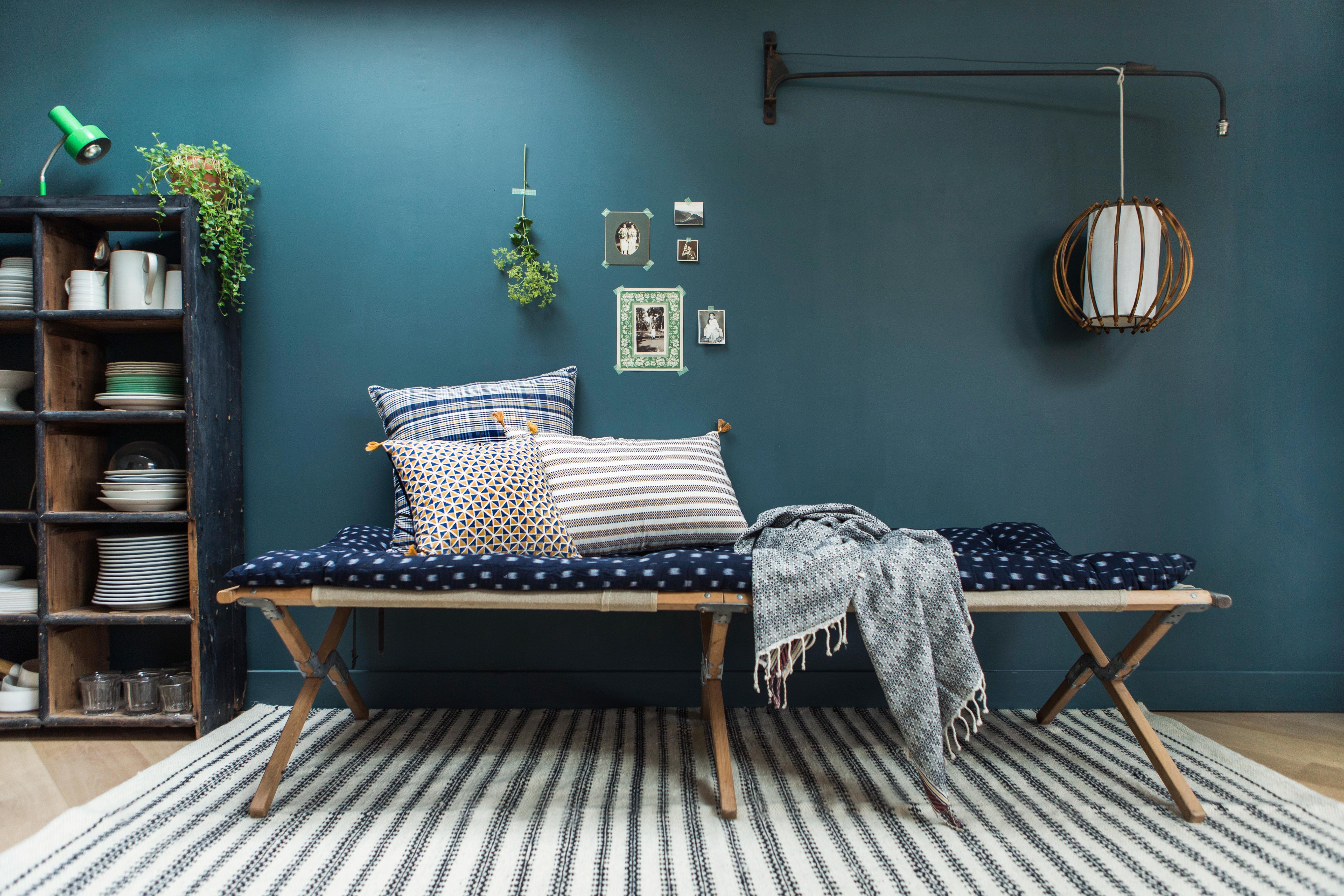 les jolis textiles indiens de jamini design. Black Bedroom Furniture Sets. Home Design Ideas